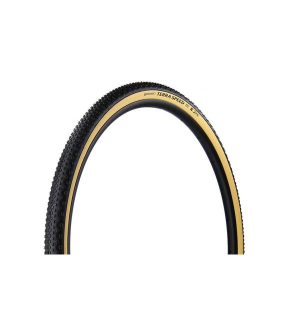 Cubierta Continental Terra Speed Protection Blackchili Tubeless Plegable