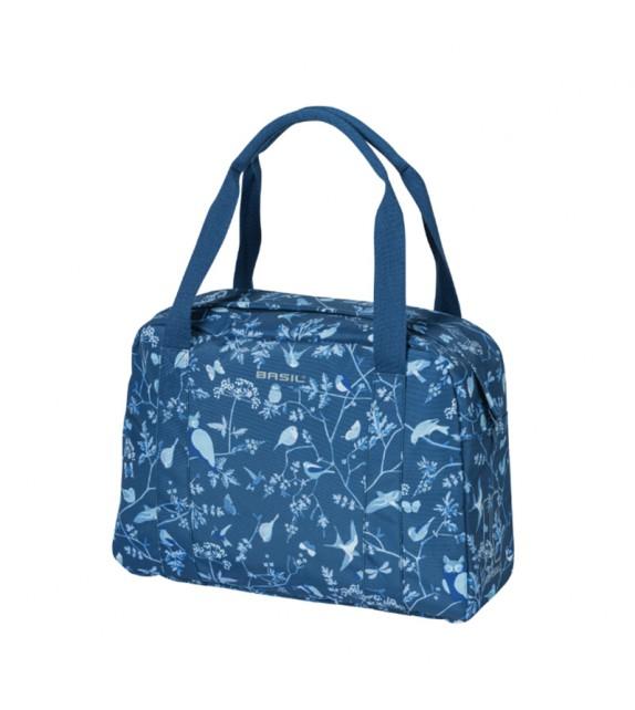 Bolsa Basil Wanderlust 18l Hook-on Con Reflectante Cremallera Poliester Azul