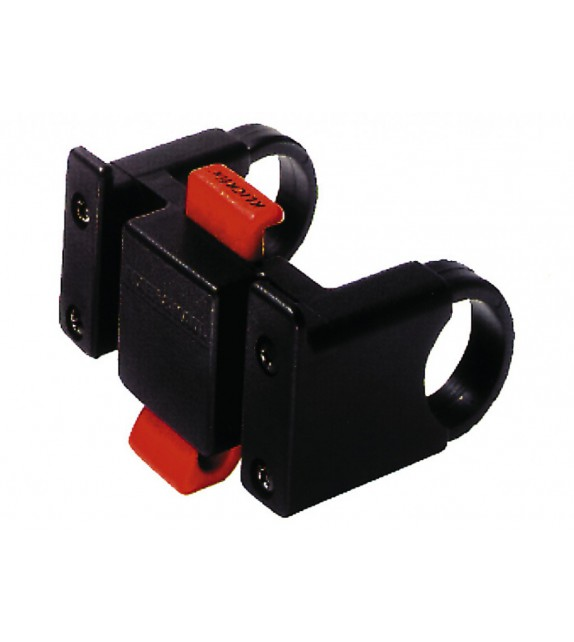 Adaptador Para Manillar Klickfix Negro, Adecuado Para 22-26 Mm