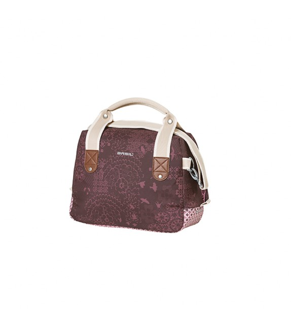 Bolsa Basil Boheme Citybag 8 Litros Rojo (32x12x23 Cm)