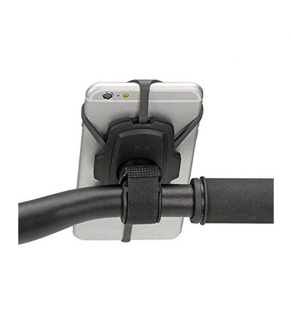Soporte Smartphone Klickfix Quad Mini Gris/negro Con Adapt.