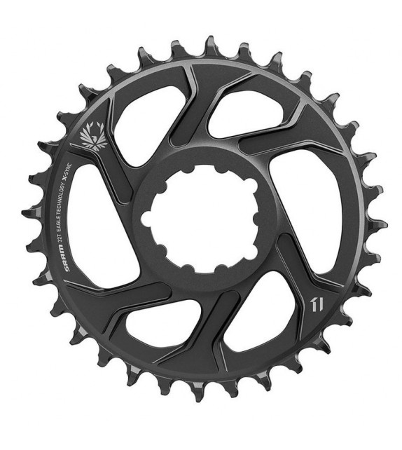 Plato Sram X-sync2 Eagle Direct Mount 6 Mm Offset 11/12v Negro 34d