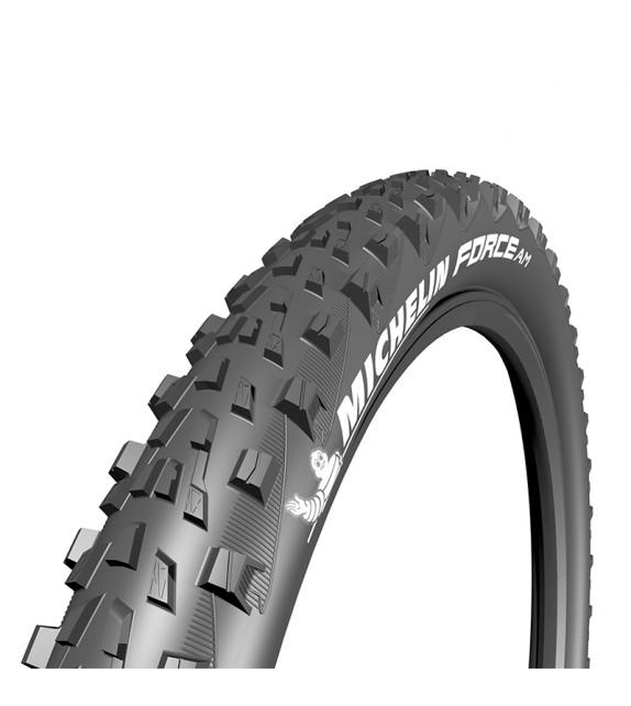 Cubierta Michelin Force Am Tubeless Ready Performance Line Plegable Negro