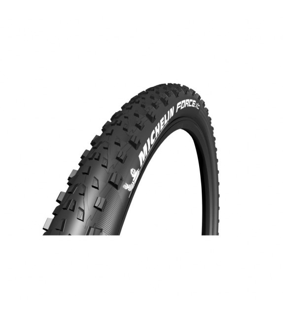 Cubierta Michelin Force Xc Tubeless Ready Performance Line Plegable Negro