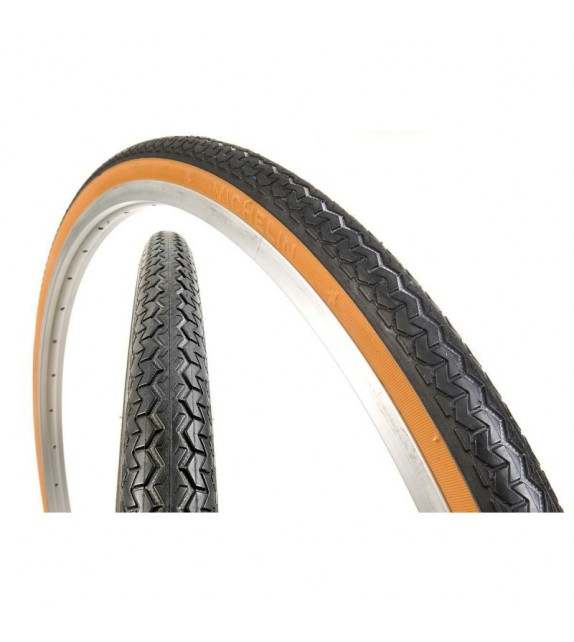 Cubierta Michelin Retro Clasic 650x44b Acces Line Rigida Negro/marron 44-584
