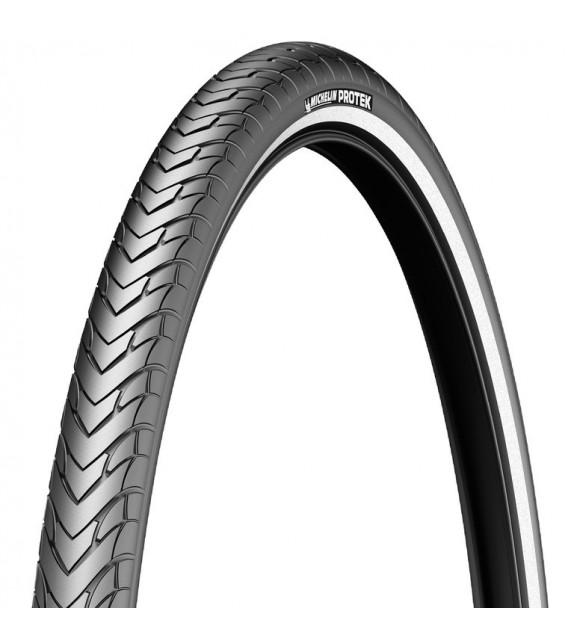 "Cubierta Michelin Protek 28""/700x47c Acces Line Rigida Negro Reflectante 47-622"