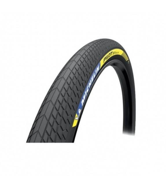 Cubierta Michelin Pilot Sx Slick 20x1.70 Racing Line Rigida Negro 44-406