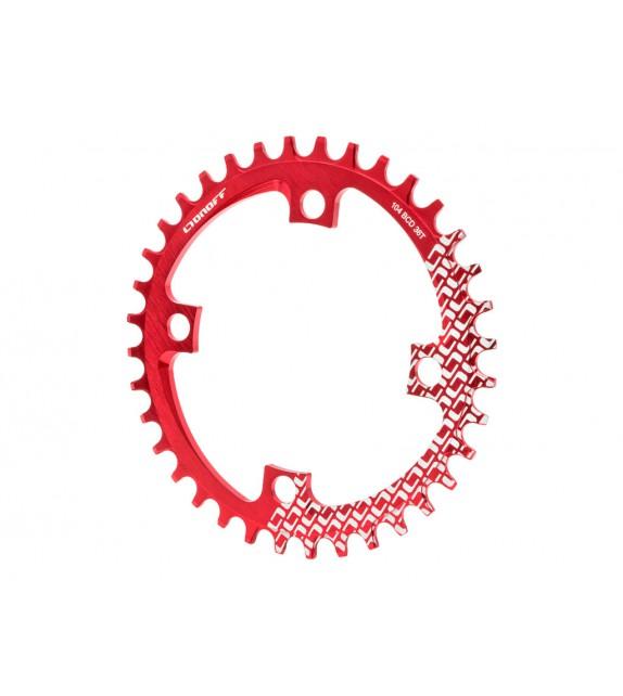 Plato de bicicleta BCD104 de 36 dientes