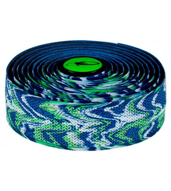 Cinta de manillar DSP 2.5mm azul/verde