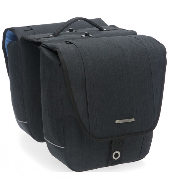 Alforjas Avero Desmontables Polyes Impermeable Negro 25l