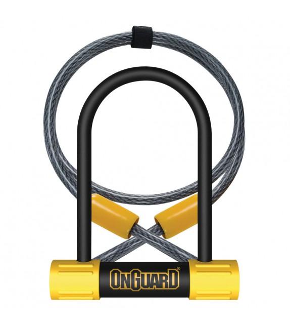 Candado Horqu.mini Onguard Bulldog Dt 90x140mm+cable