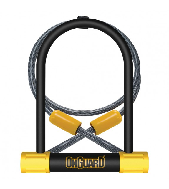 Candado Horqui. Onguard Bulldog Dt 115x230mm+cable