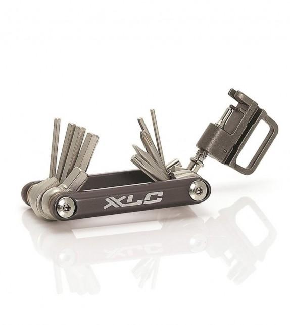 Xlc To-m07 Multiherramienta 15 Piezas Allen,torx, T25 Y Tronchacadena