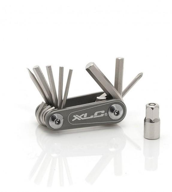 Xlc To-m08 Multi Herramienta Nano 9 Funciones Con Llave Allen