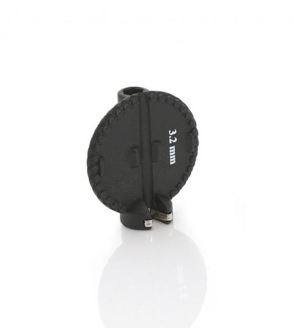 Xlc To-s44 Llave Boquilla Radios Redonda 3,2mm Negro