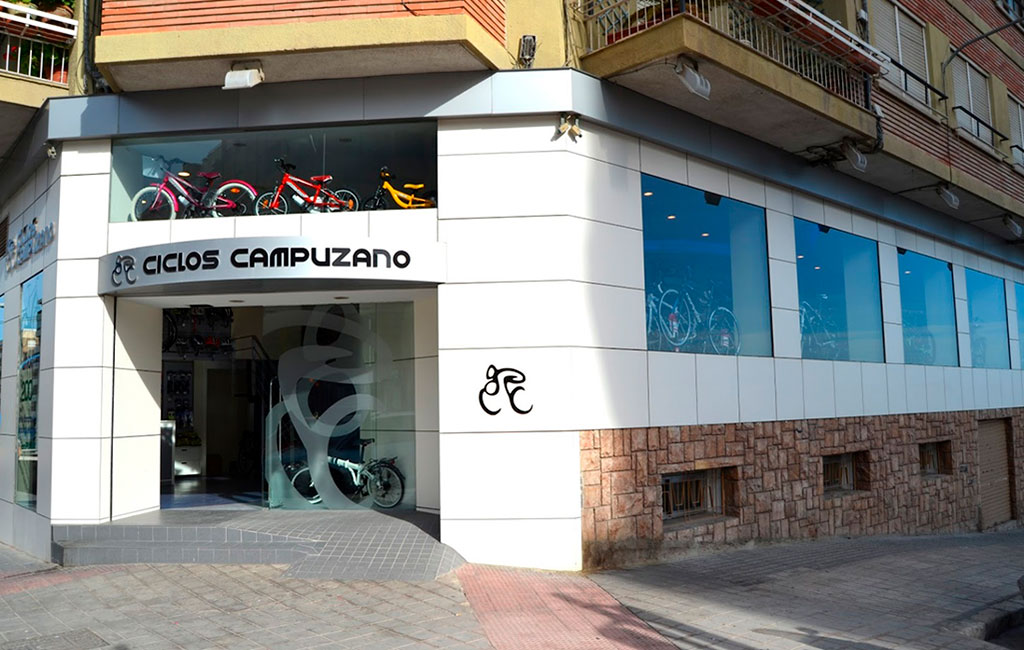 Ubicación de tienda de bicicletas en Alicante