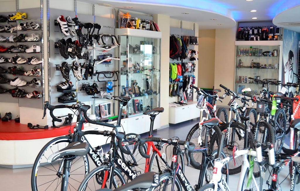 Accesorios y bicicletas de Ciclos Campuzano